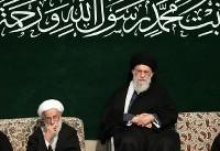 (تصاویر) عزاداری حضرت زهرا (س) با حضور رهبر انقلاب