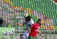 دیدار تیمهای فوتبال ذوبآهن ایران و لوکوموتیو ازبکستان