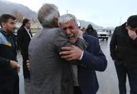 Crews reportedly reach wreckage of Iran plane crash