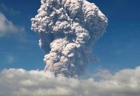 Indonesia's Sinabung Volcano Unleashes a Towering Ash Column