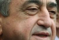 پیام تسلیت رییسجمهور ارمنستان به روحانی