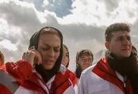 خواهران منصوریان در تیم نجات سانحه هوایی