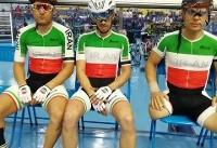 نایب قهرمانی تیم دوچرخهسواری معلولان در تیم اسپرینت