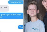 Teen Brothers Exchange Heartbreaking Text Messages During Florida High School Shooting: ...