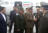 وزیر دفاع ایران وارد باکو شد