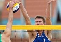 ایران با سه تیم در جدول اصلی تور جهانی والیبال ساحلی/ حذف ۵ تیم ایران در مقدماتی