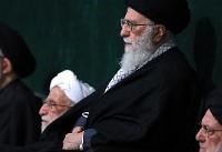 (تصاویر) عزاداری شام غریبان حضرت زهرا(س) با حضور رهبر انقلاب