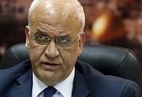 عریقات: «لیبرمن» رئیس حقیقی تشکیلات خودگردان فلسطین است!