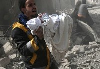 Syria bombardment kills 44 in rebel enclave as ground assault looms
