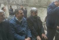 تشییع پیکر مادر زهرا رهنورد در غیاب او و میرحسین موسوی (عکس)