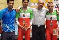 دوچرخهسواری پیست آسیا؛ مدال نقره برای تیم دونفره مدیسون ایران
