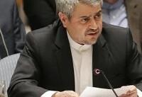 خوشرو: ایران حامی مبارزات مشروع فلسطینیان برای برپایی کشور فلسطین به پایتختی قدس است