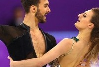 Ice dancing pair overcomes costume issue, nabs the silver medal