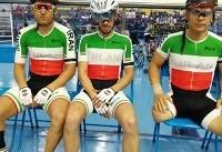 دوچرخهسواری معلولین آسیا؛ تیم اسپرینت ایران و محمدی نایب قهرمان شدند