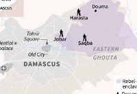 Syria bombardment of rebel enclave kills 18 civilians: monitor