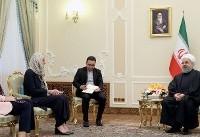(تصاویر) دیدار وزرای خارجه هلند و اسپانیا با روحانی