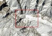 جدیدترین تصاویر ماهوارهای از محل سقوط هواپیمای یاسوج (عکس)