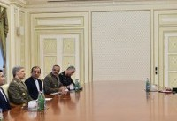 وزیر دفاع کشورمان با رئیس جمهوری آذربایجان دیدار کرد