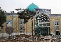 تخریب گورستان امامزاده عبدالله شهرری (عکس)
