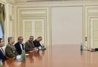 امیر حاتمی با رئیس جمهور آذربایجان دیدار کرد