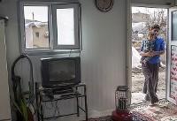 (تصاویر) از اسکان موقت زلزلهزدگان