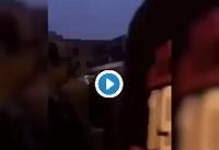 زن معترض خیابان قیطریه 'در بازداشت کتک خورده است'