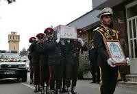 (تصاویر) تشییع شهدای آشوب خیابان پاسداران
