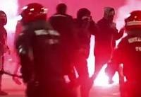 اسپانیا؛ کشته شدن یک پلیس در آشوب های هواداران اسپارتاک مسکو