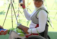 زهرا نعمتی، برترین کماندار پارالمپیکی سال ۲۰۱۷ جهان شد