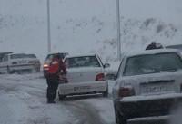 برف و باران در بیشتر جاده های کشور