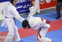 بیمه تعاون قهرمان سوپر لیگ کاراته بانوان شد