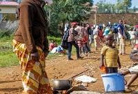 اعتراض خونین پناهجویان مقیم روآندا