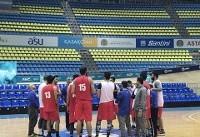 تمرین تیم ملی بسکتبال در آستانه / ملیپوشان فردا به کشور بازمیگردند