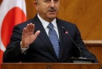 وزیر خارجه ترکیه خواستار فشار ایران و روسیه بر دولت بشار اسد شد
