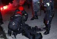 مرگ یک پلیس در درگیری هواداران اسپارتاک و اتلتیک بیلبائو