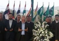 حضور سفیر ایران در عراق بر سر مزار جلال طالبانی