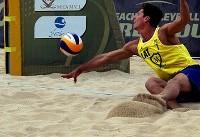 روز چهارم مسابقات تور جهانی والیبال ساحلی (عکس)