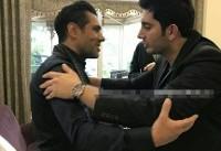 حضور خواننده سرشناس در هتل پرسپولیسیها