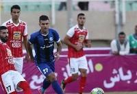 پیروزی پرسپولیس برابر استقلال خوزستان در نیمه اول