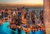 دبی شهر جاذبههای گردشگری مدرن