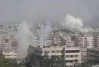 حمله خمپارهای تروریستها به شهر دمشق