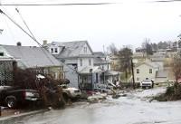 توفان در آمریکا همچنان قربانی میگیرد/بادهای سنگین دست از سر آمریکا بر نمیدارد+تصاویر