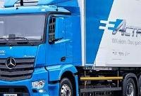 کامیون برقی مرسدس بنز بهزودی تولید میشود (+عکس)