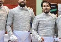 تیم ملی اسلحه سابر ایران نایب قهرمان جام جهانی شمشیربازی شد