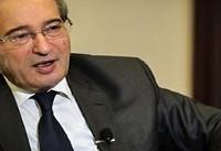 فیصل مقداد: نبرد سوریه علیه تروریسم همان نبرد عراق علیه تروریسم است