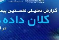 نخستین گزارش تحلیلی پیمایش کلان داده ها در ایران منتشر شد