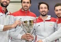 تیم ملی سابر ایران نایب قهرمان جام جهانی شمشیربازی شد