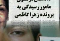 افشاگری وزیر سابق اطلاعات: زهرا کاظمی ضرب و شتم شد و سرش به جدول خیابان اصابت کرد