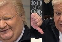 ماجرای تست گریم اکبر عبدی و شباهت به ترامپ