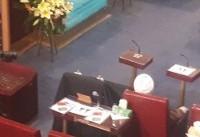 صندلی خالی نماینده فقید مردم تهران در چهارمین اجلاس مجلس خبرگان + عکس